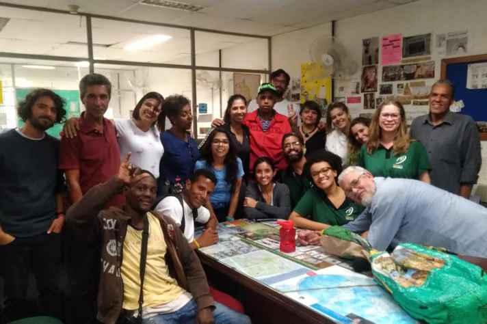Usuários do Centro de Convivência São Paulo participaram do programa Conexões, na Rádio UFMG Educativa, no último dia 16 de maio