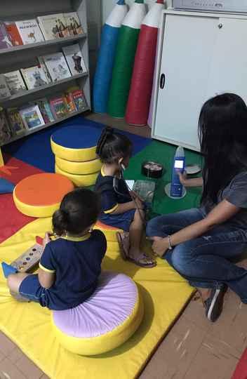 Uma das creches em que a fonoaudióloga Lorena Bicalho validou o Instrumento de Triagem Auditiva Infantil
