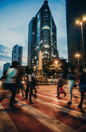 O Obelisco da Praça Sete de Setembro em Belo Horizonte conhecido como