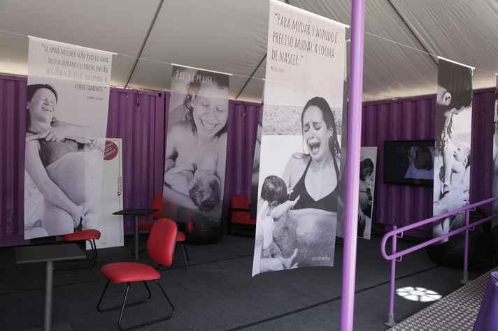 Exposição do projeto no campus Pampulha