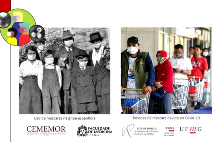 Projeto aborda semelhanças entre a gripe espanhola e a atual pandemia causada pelo novo coronavírus