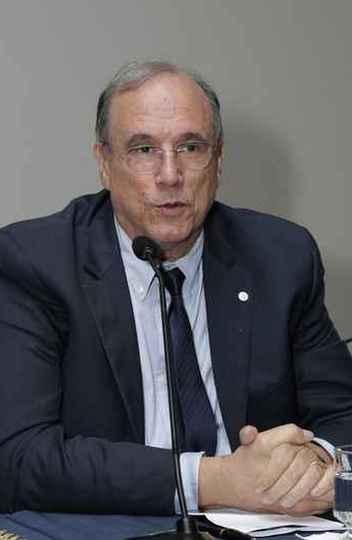 Mário Campos em evento na UFMG em 2019: