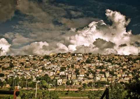 Favela Morro do Papagaio, em Belo Horizonte