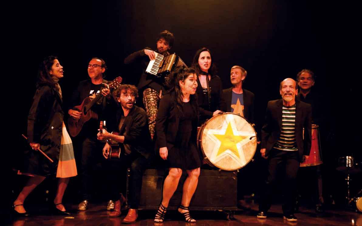 Grupo Galpão, em recente apresentação no Festival de Inverno, foi um dos agraciados com a Medalha Reitor Mendes Pimentel em 2011