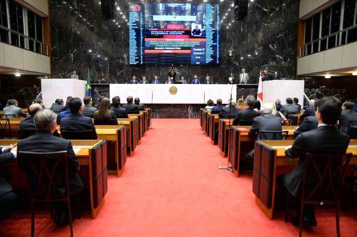 Assembleia de Minas tem representantes de 27 partidos políticos