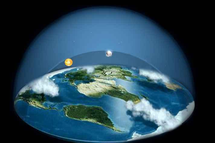 Grupos disseminam que Terra é plana