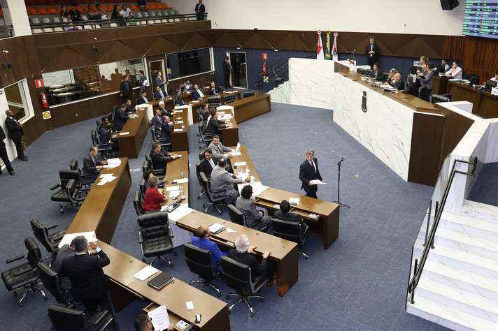 Plenário da Câmara Municipal de BH