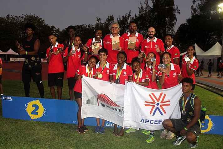 Equipe de atletismo do CTE é formada por 13 atletas, três técnicos e um supervisor