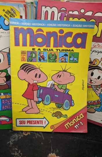 Primeira revista da Turma da Mônica foi lançada em maio de 1970