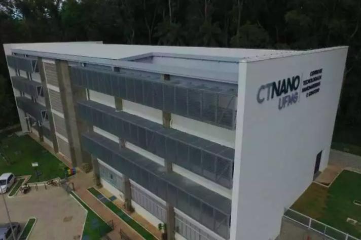 Sede do CTNano, localizada no Parque Tecnológico de Belo Horizonte, abriga pesquisas com nanotubos de carbono e grafeno