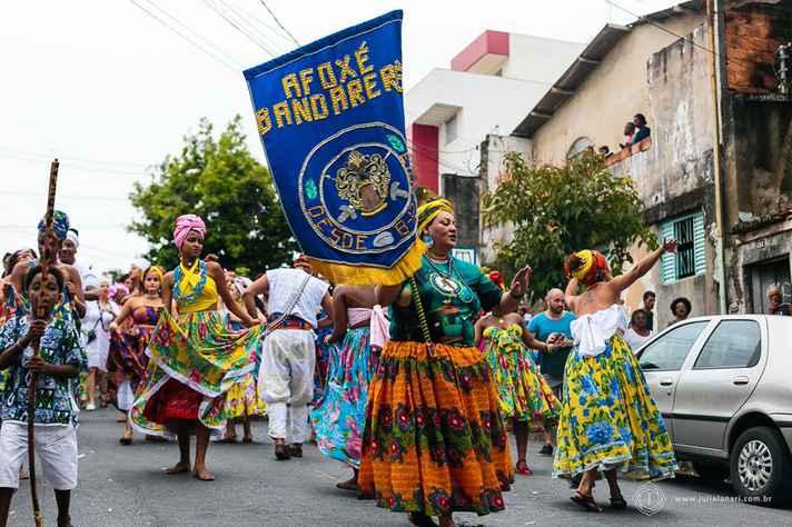 Fundado em 2013, Afoxé Bandarerê é uma das atrações do evento