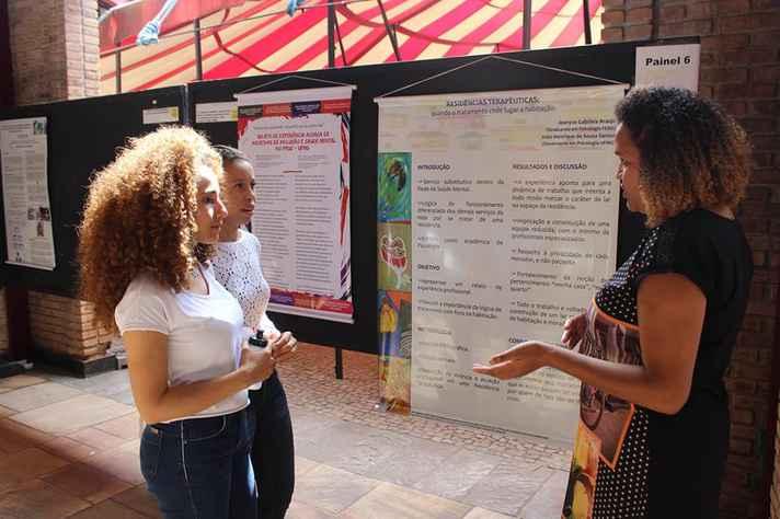 Trabalhos foram apresentados por estudantes e profissionais de várias instituições
