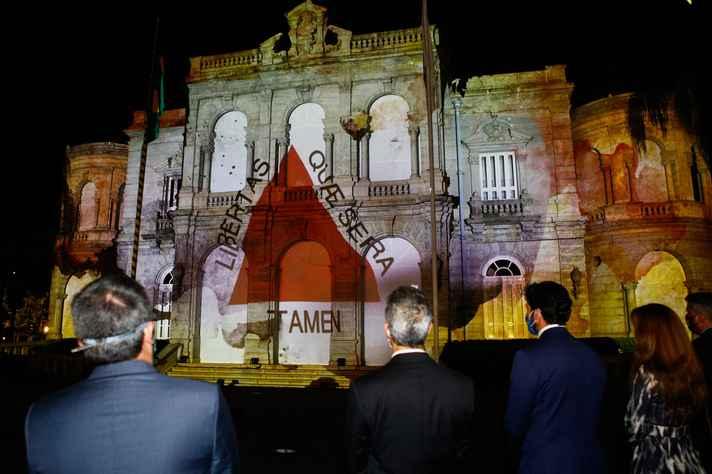 Cerimônia foi realizada no Palácio da Liberdade, em Belo Horizonte