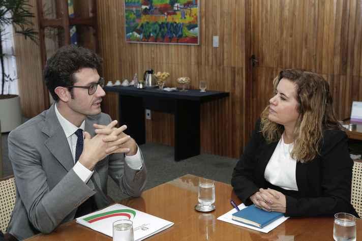 Sandra Goulart Almeida e Dario Savarese: parceria antiga
