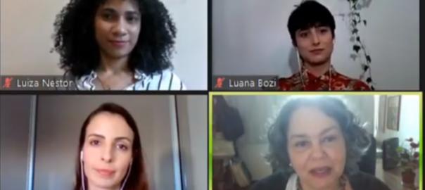Atividade on-line da edição 2020 da Jornada de Extensão, que abordou o tema do protagonismo estudantil