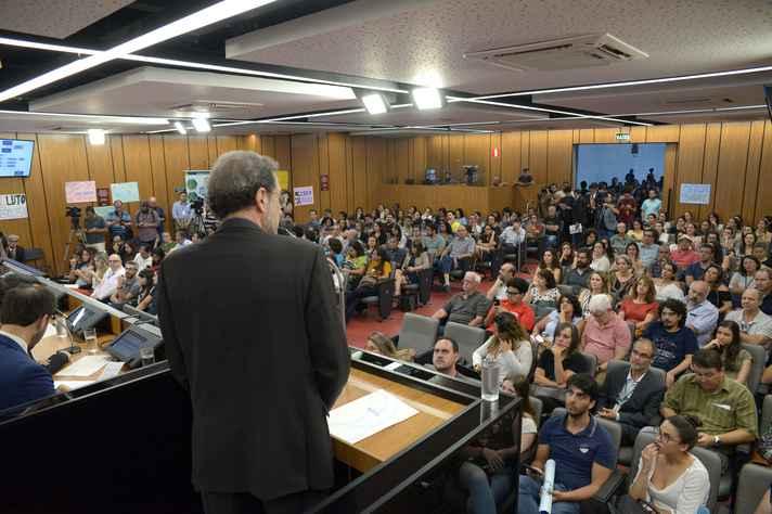 Paulo Beirão, presidente interino da Fundação: