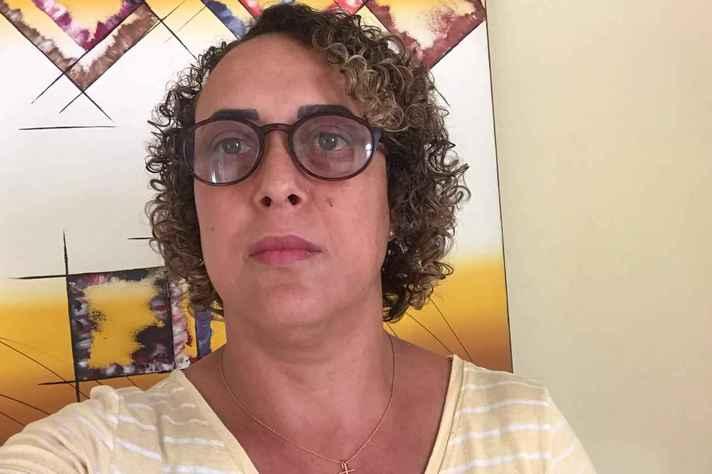 Com a pandemia, a professora de matemática Silvana Marques passou a trabalhar com novas ferramentas como edição de videos