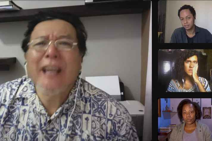 Cena do vídeo da campanha #Tiraraleidopapel 2020