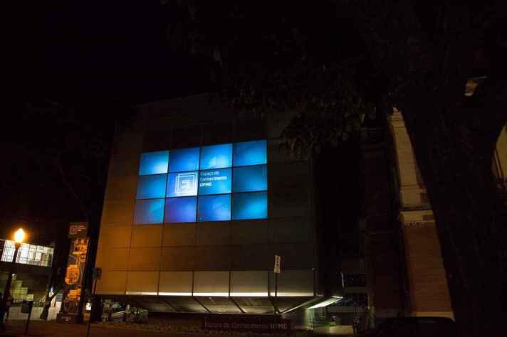 Fachada digital do Espaço do Conhecimento UFMG