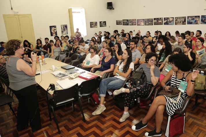 Plenária no MHNJB reuniu estudantes, professores e museólogos de diversas universidades brasileiras