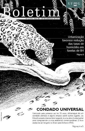 Capa da edição 2.074 (com ilustração de Charles W. Schwartz)