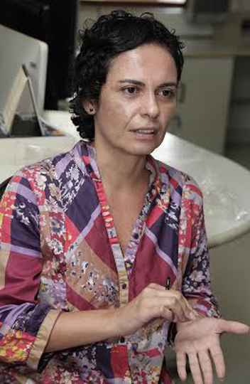 Claudia Mayorga, pró-reitora adjunta de Extensão