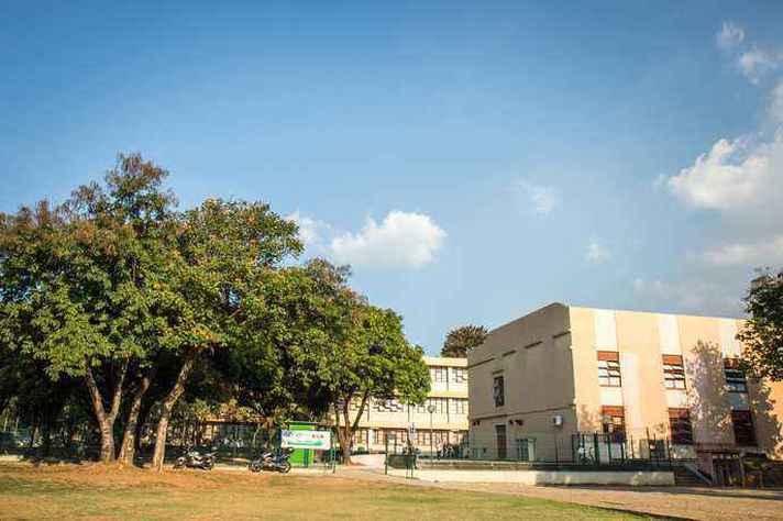 Prédio do Coltec, no campus Pampulha: atividades em modo remoto até o retorno presencial