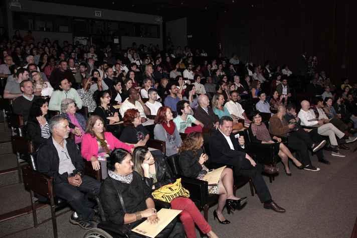 Auditório da Reitoria abrigou a abertura do evento