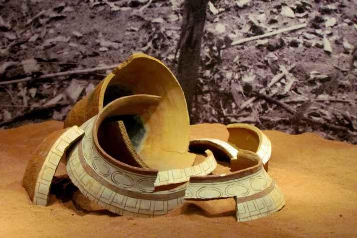 Achados do sítio arqueológico de Florestal farão parte da exposição