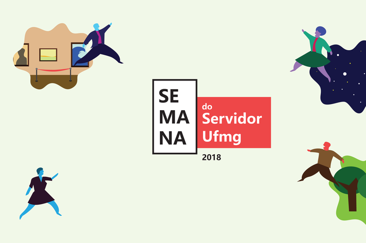 Identidade visual da Semana do Servidor 2018
