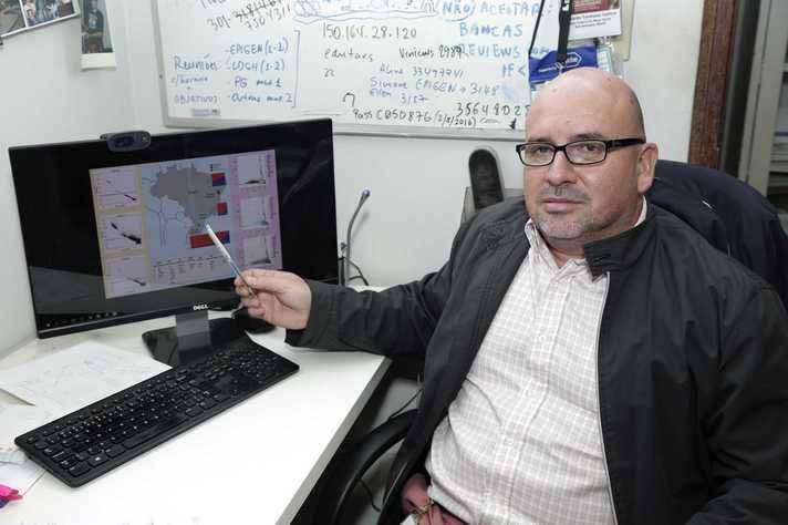Professor Eduardo Tarazona, do ICB, liderou equipe de pesquisadores nas duas pesquisas