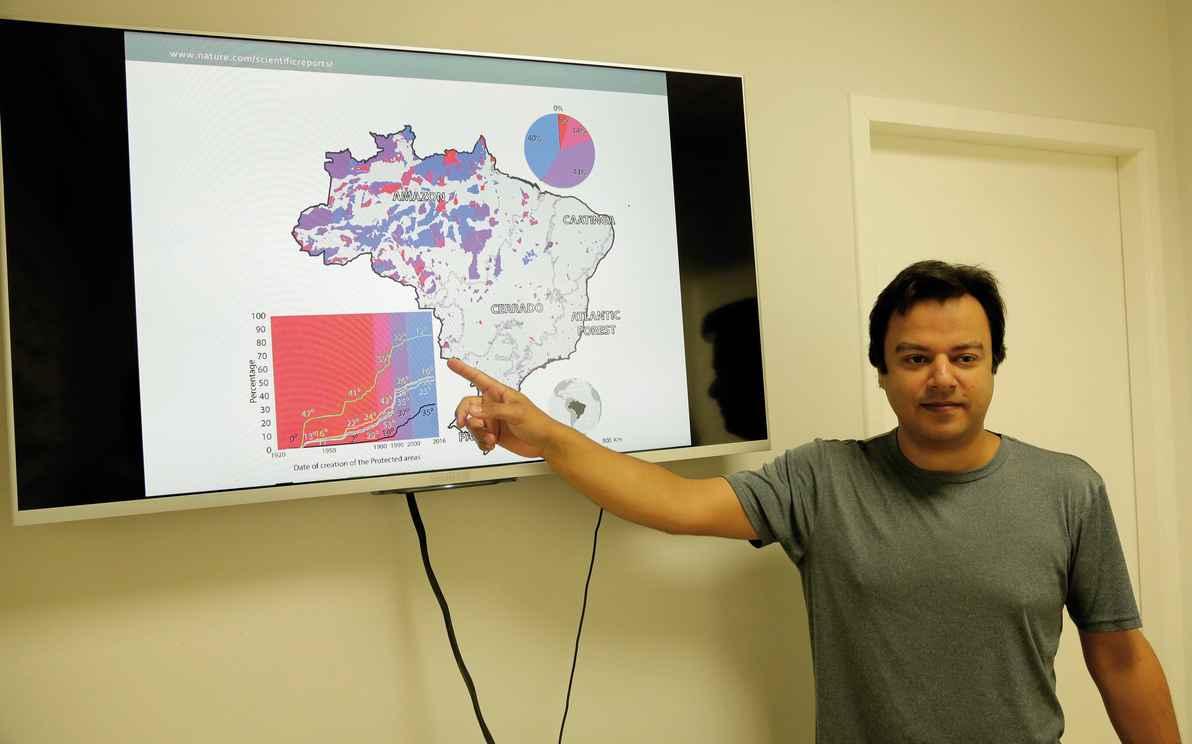 Ubirajara: espécies endêmicas devem estar 100% dentro de unidades de conservação