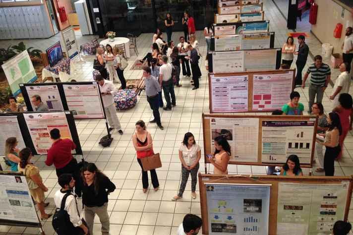 Encontro apresenta trabalhos científicos executados por alunos de graduação e pós graduação