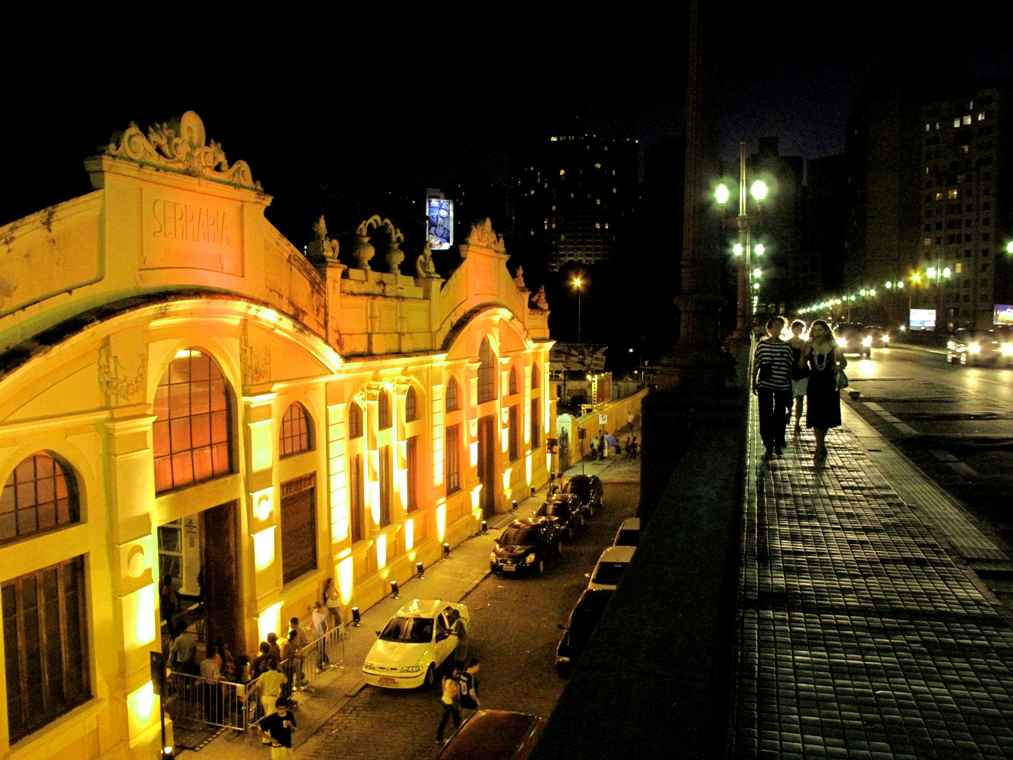 Serraria Souza Pinto e o Viaduto Santa Tereza estão no roteiro da visita