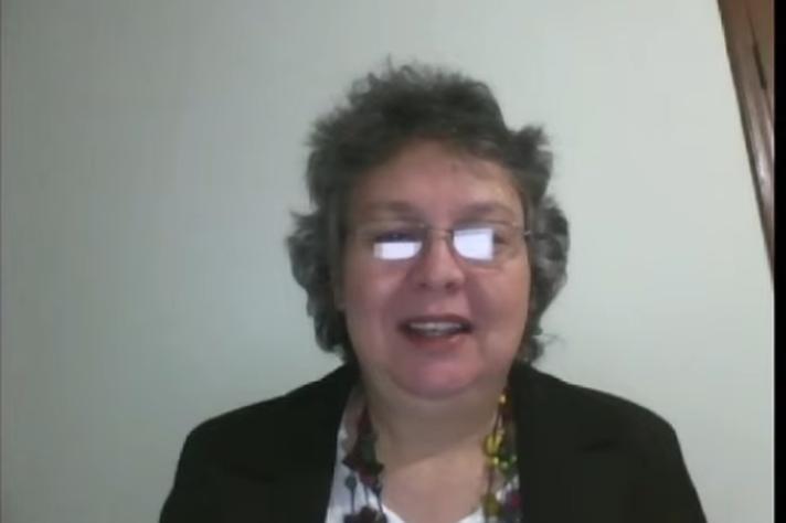 Eliane Garcia, pró-reitora de Extensão da Unifal ressaltou responsabilidade social das universidades