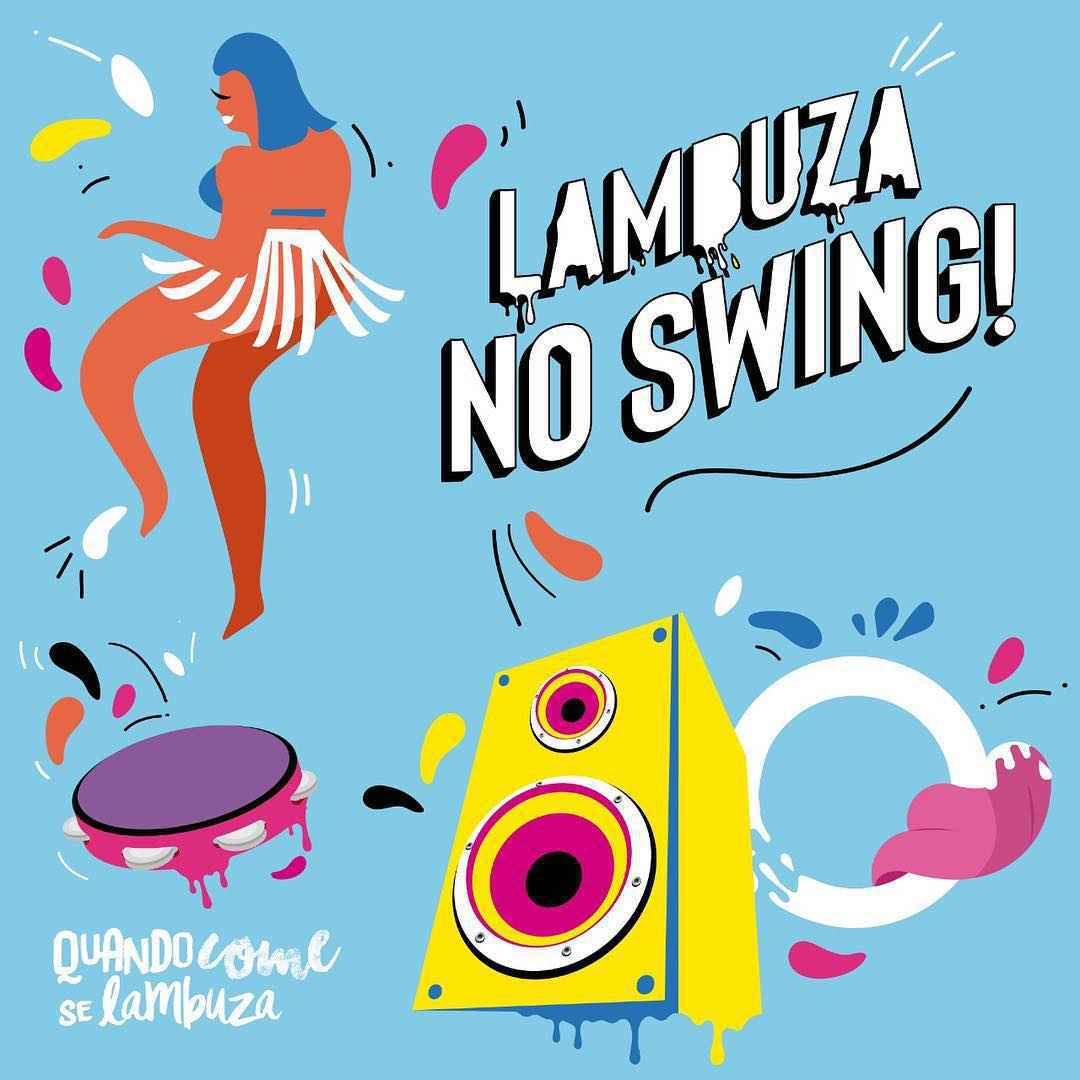 Capa do EP 'Lambuza no Swing'