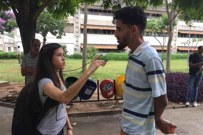 Entrevista para a rádio UFMG Educativa