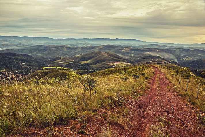 Vista do alto da Serra da Moeda