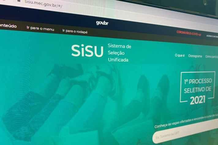 Inscrições devem ser feitas no site do Sisu