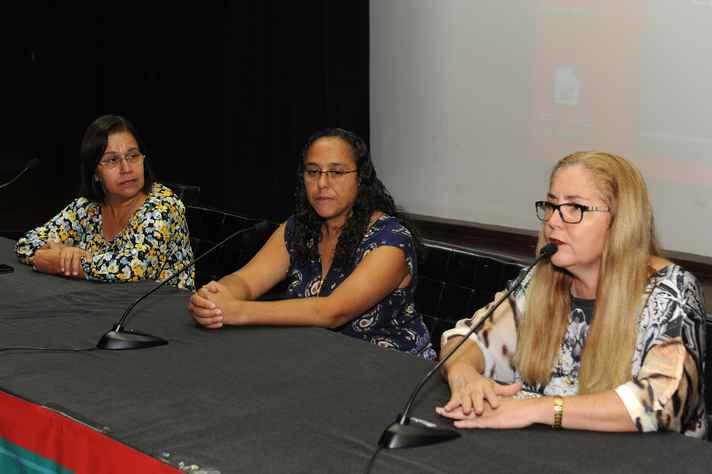 Rosangela Costa, Cristina Del Papa e Leonor Gonçalves: riscos para a educação e o serviço público