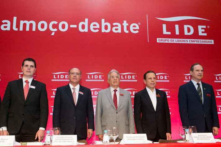 FHC, entre Dória e Alckmin: possíveis candidatos