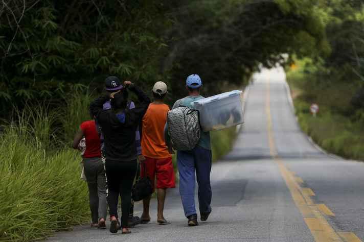 Imigrantes venezuelanos