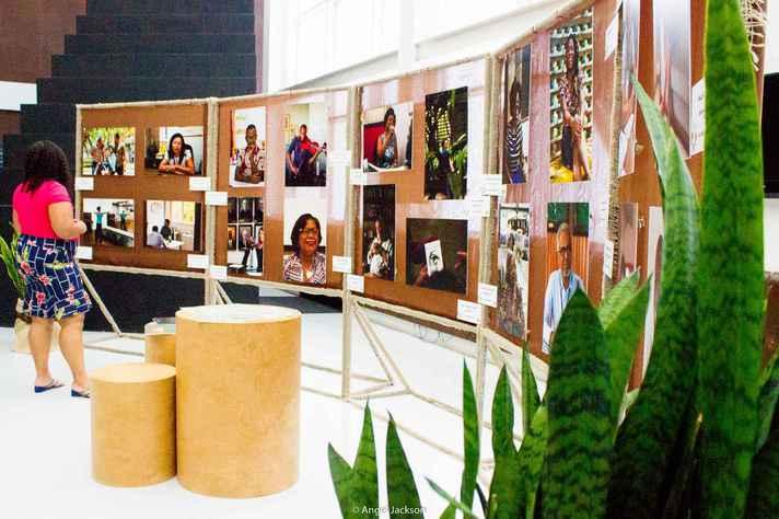 Exposição 'Docência negra' é exemplo recente de projeto de estudantes apoiado pela Prae