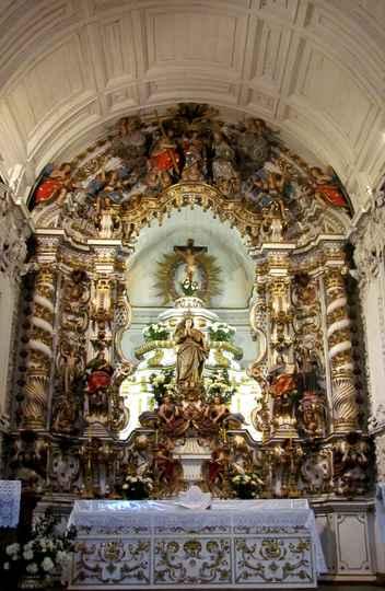 Retábulo-mor da Matriz de Nossa Senhora da Conceição, em Catas Altas