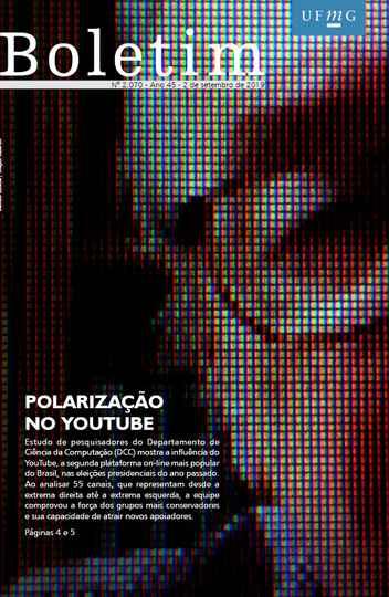 Capa da edição 2.070 (criação: Marcelo Lustosa / UFMG)