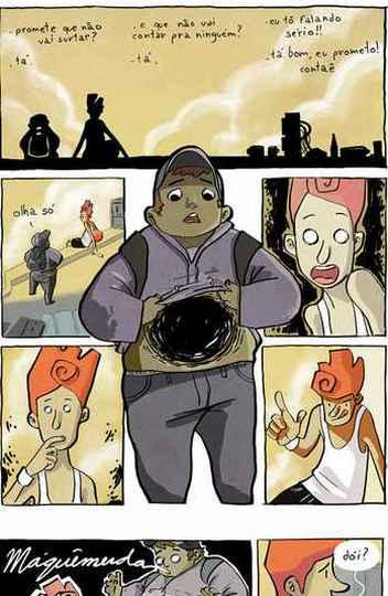 'Achados e perdidos' foi o primeiro álbum de quadrinhos publicado por crowdfunding