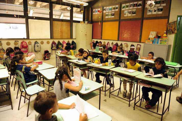 Sala de aula do Centro Pedagógico da UFMG
