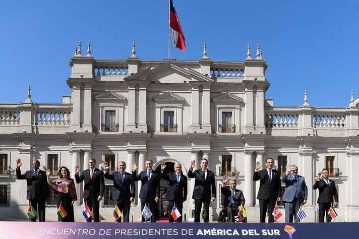 Presidentes de oito países assinam, no Chile, criação da Prosul, um novo fórum de articulação para a América do Sul