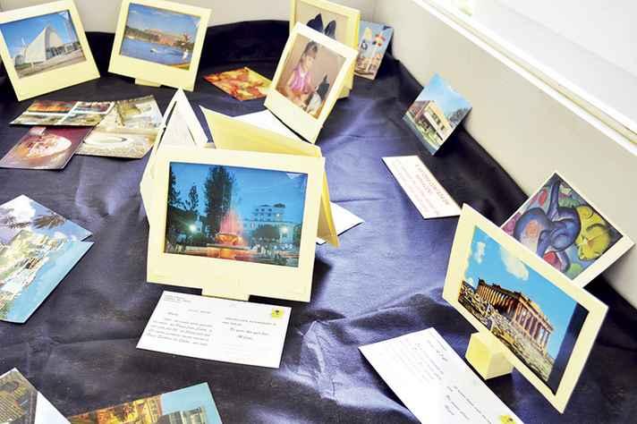 Cartões fazem parte da Coleção Memória, doada à UFMG pela educadora