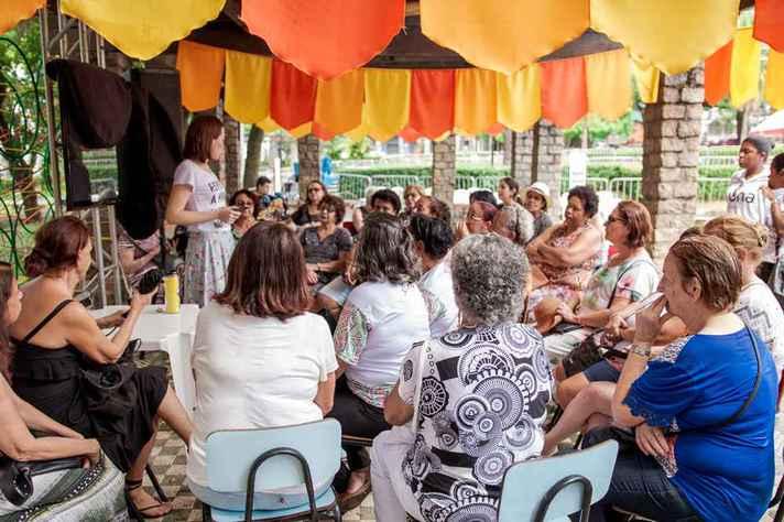 Evento de edição presencial do Festival Sabiá